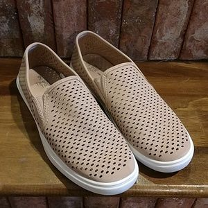 Time and Tru perforated slip on loafer